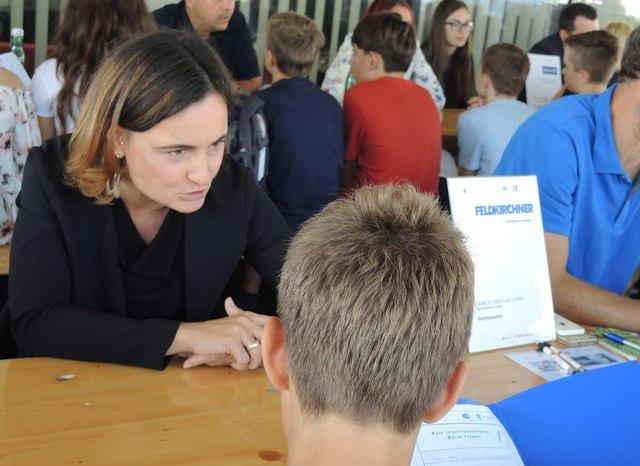 """Speed Dating der """"Berufs- und Bildungsorientierung Kärnten"""""""