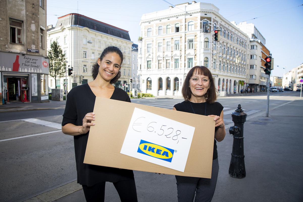 Ikea Spendet An Lobby16 Rudolfsheim Fünfhaus