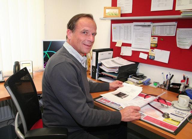 Der Pinzgauer Amtsarzt Dr. Arno Brugger.