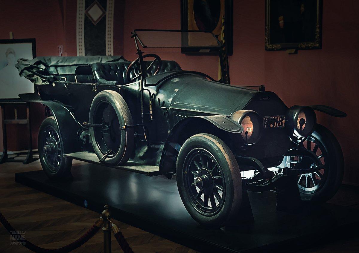 Das Auto von Sarajevo: Das Auto, in dem Franz Ferdinand starb ...
