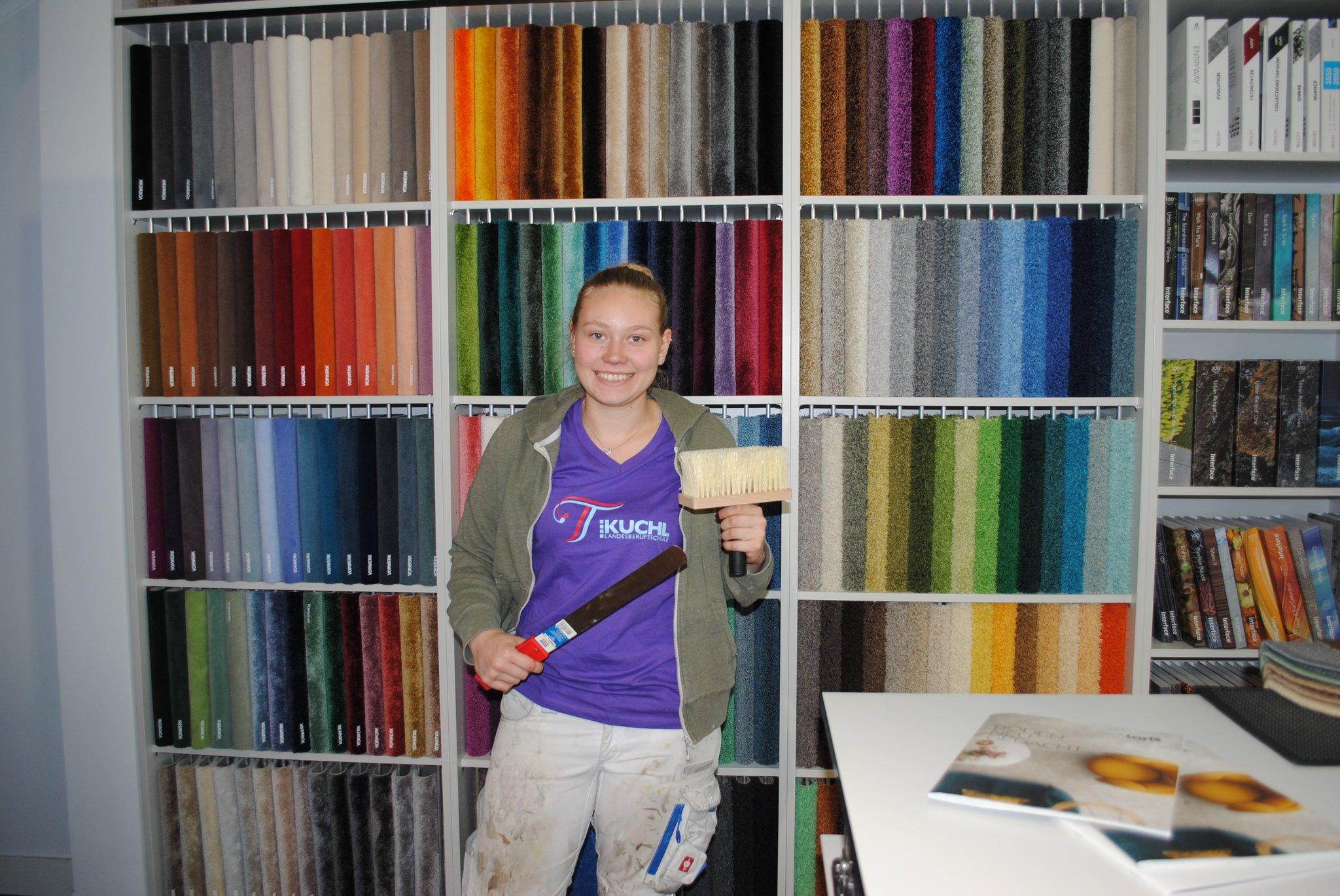 Lehre als bodenlegerin malerin und tapeziererin die for Ausbildung als raumausstatter