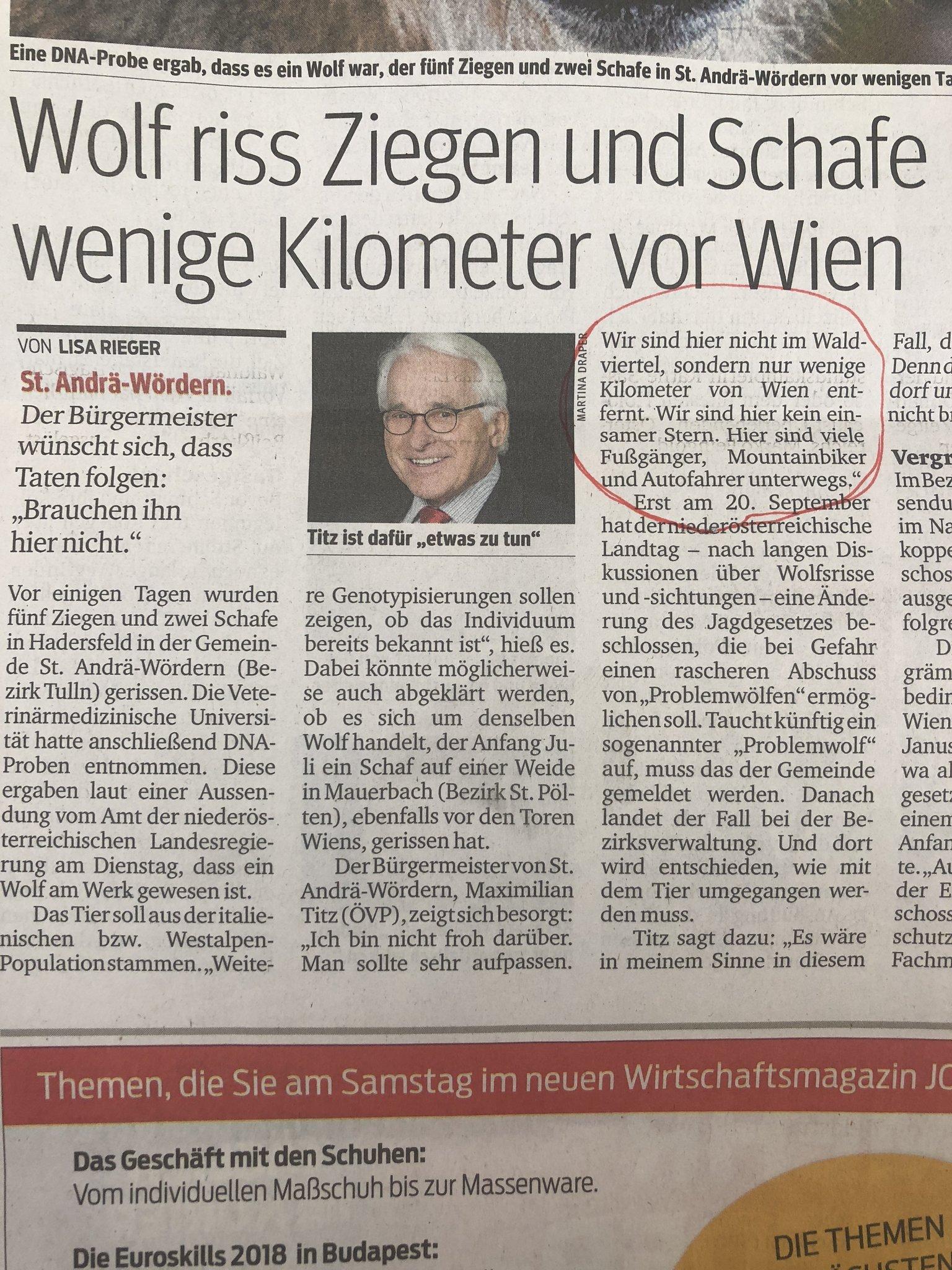 Kommentar: Schöne Grüße vom einsamen Stern, Herr Titz - Waidhofen/Thaya