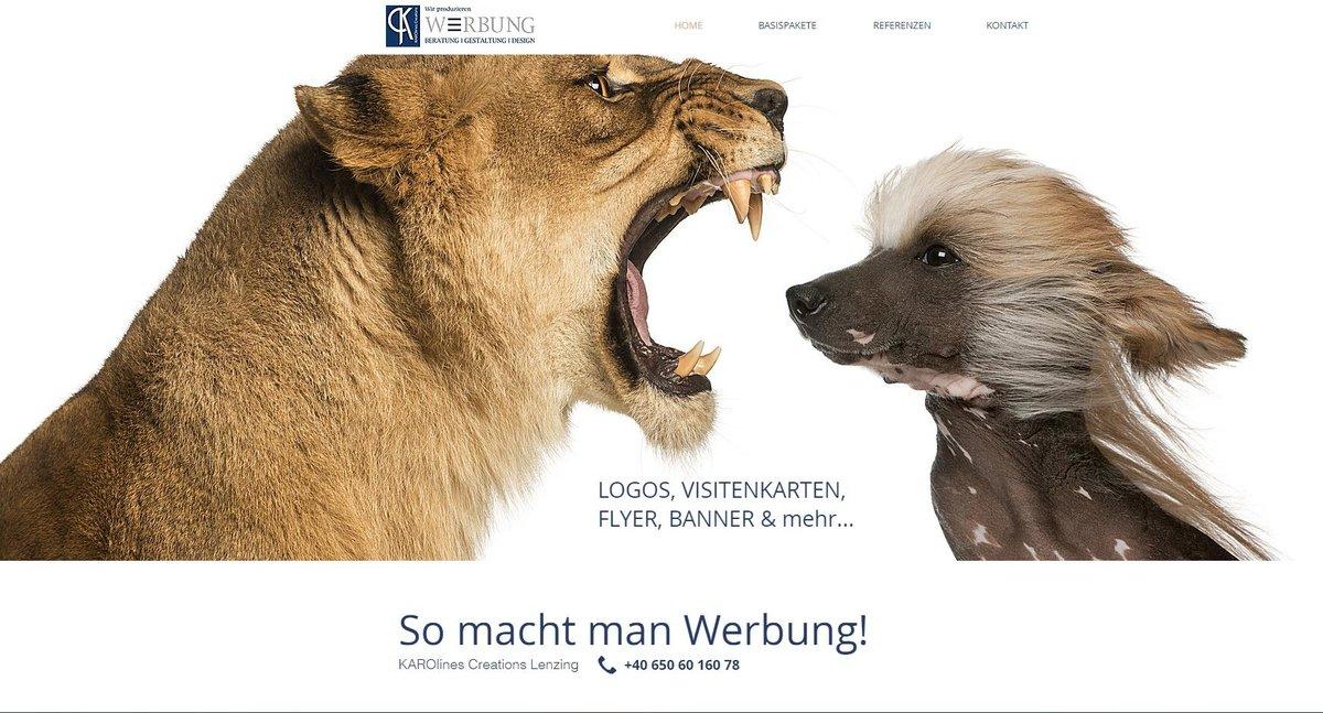 Visitenkarte Flyer Logo Wir Drucken Ihre Werbung