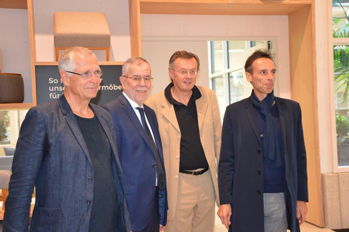 Hoher Besuch Bundespräsident Alexander Van Der Bellen Zu Gast In