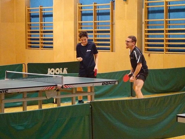 David Kandler und Christian Mair vom TSV AustriAlpin Fulpmes