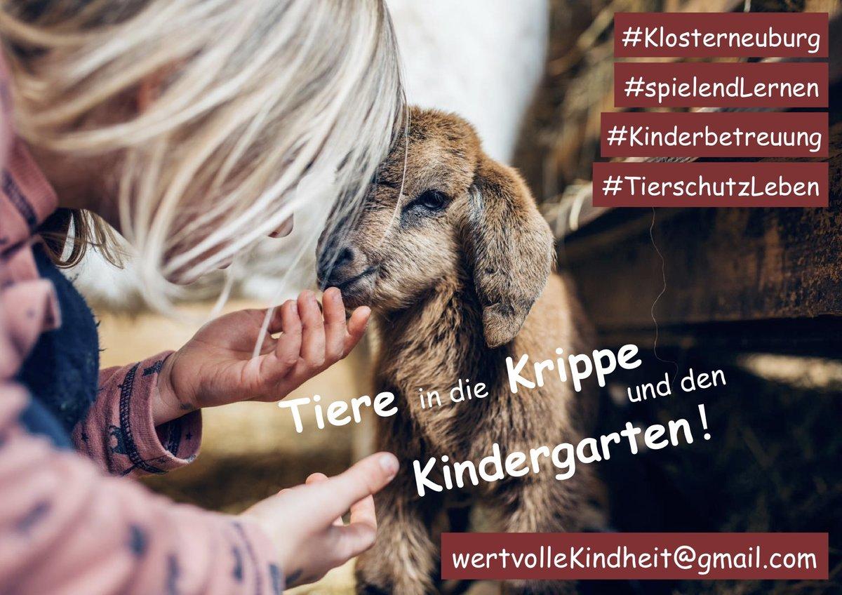 Petition Tiere In Die Krippe Und Den Kindergarten Klosterneuburg