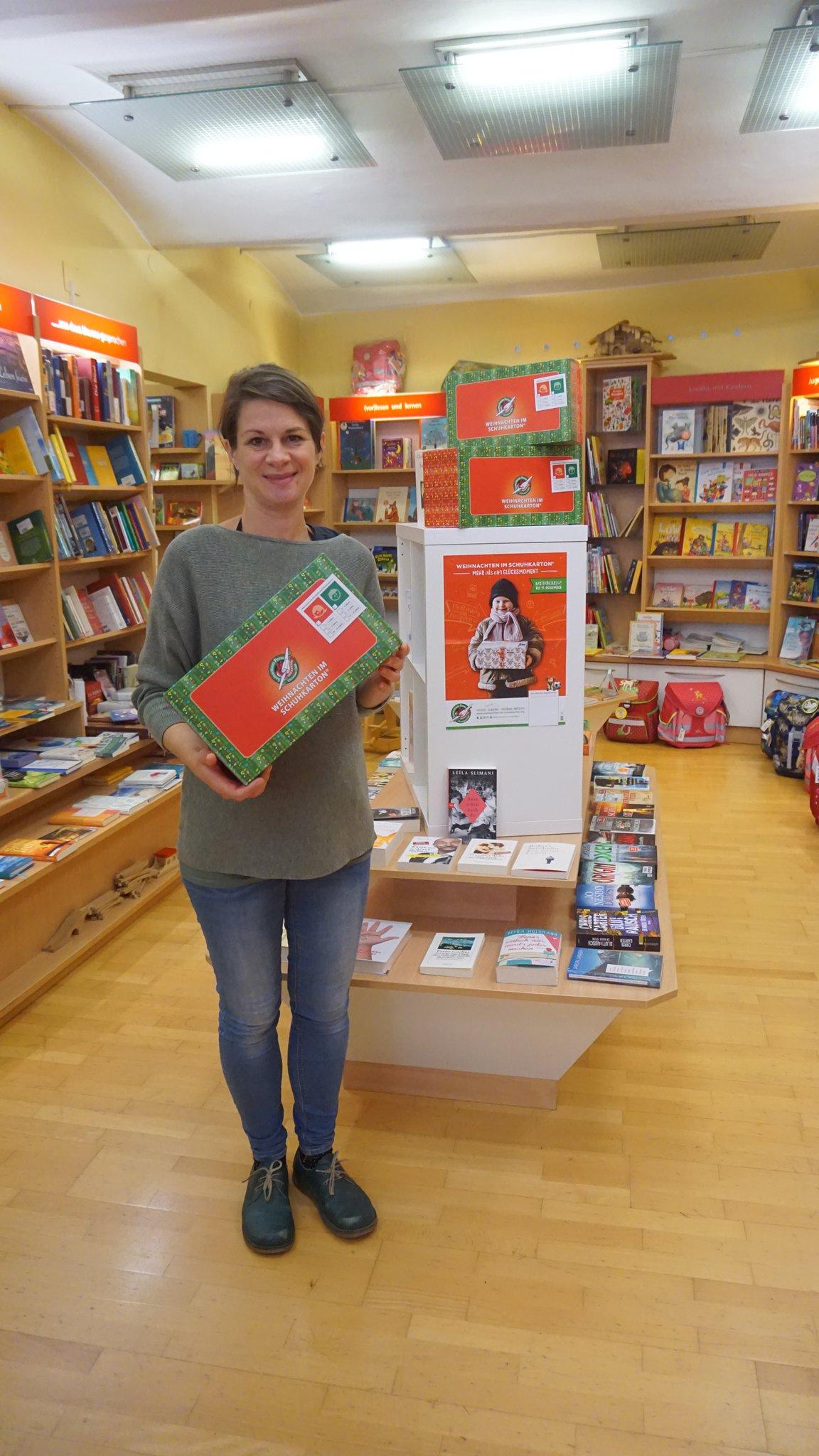 Weihnachten im Schuhkarton: Geschenke im Schuhkarton schenken ...