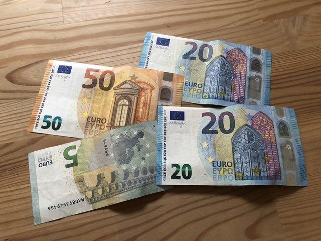 Falschgeld Bekommen