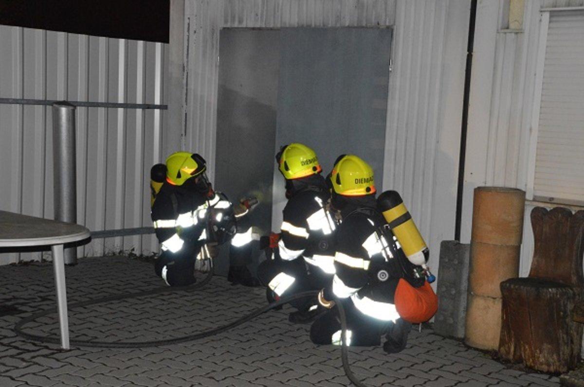 Feuerwehr übung Brand Und Wasserdienstübung In Kapfenberg Diemlach