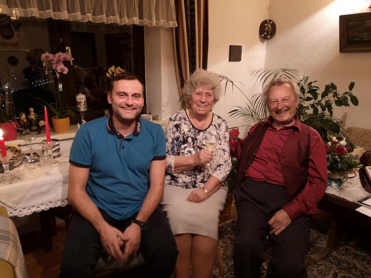 60 Jahre Glanzen Wie Ein Diamant Die Eheleute Karin Und Karl