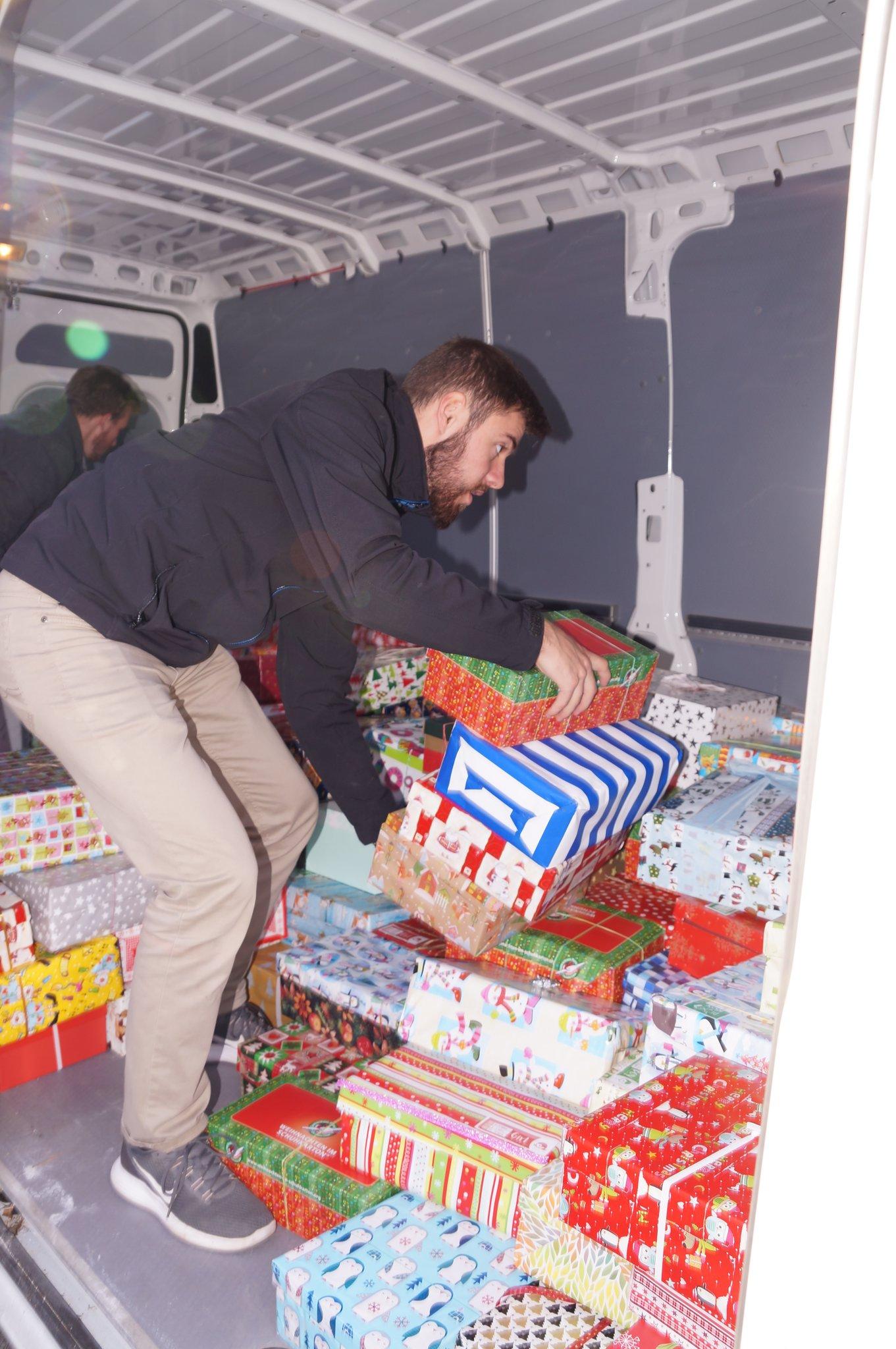Weihnachtszauber 2018: Weihnachten im Schuhkarton geht auf die Reise ...