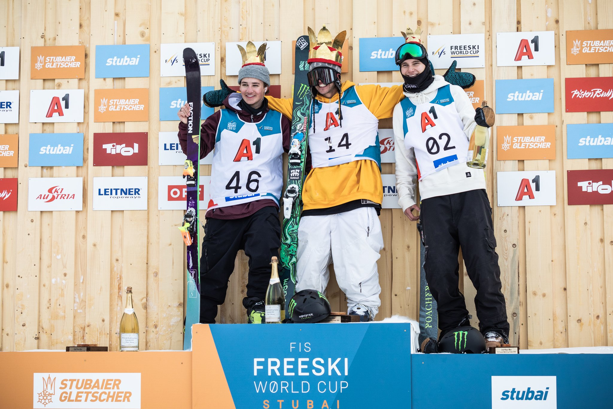 FIS Freeski Worldcup Stubai: Atemberaubende Jumps am Gletscher