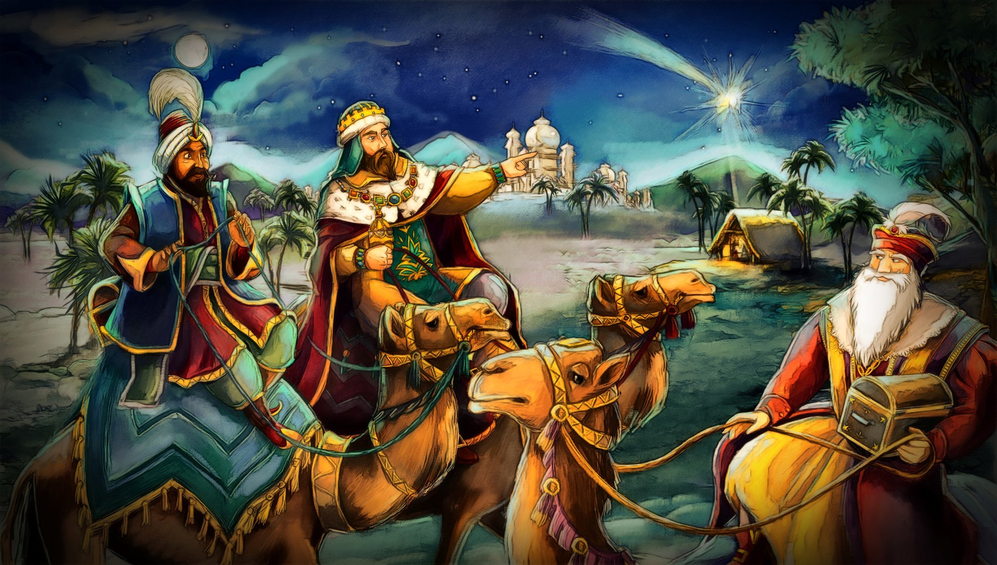 casper melchior und balthasar die heiligen drei könige