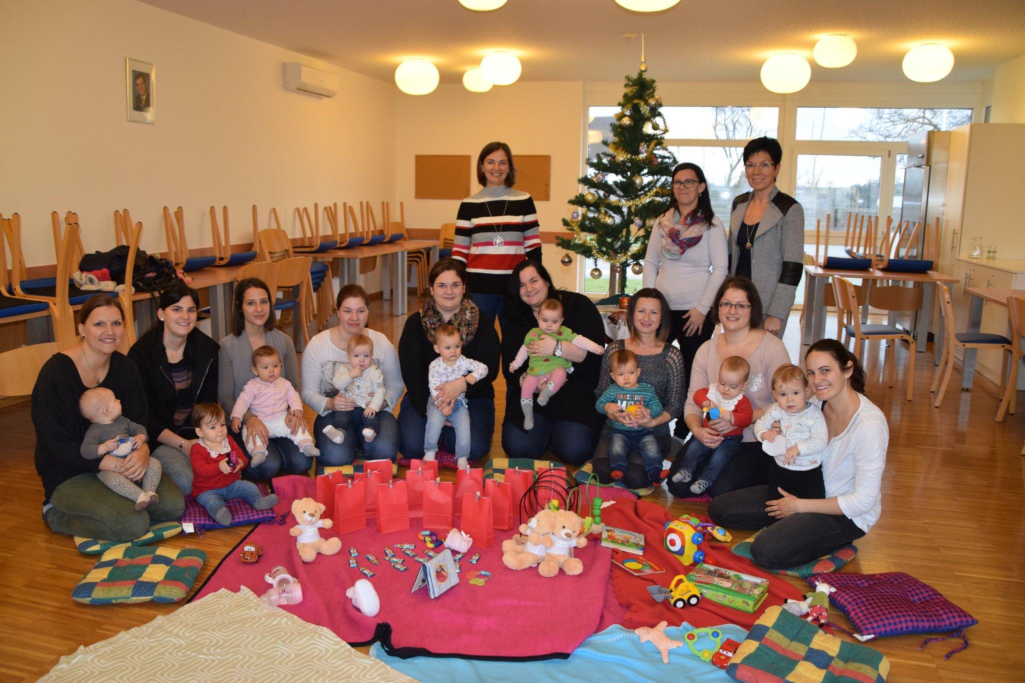 Rat & Tat fr junge Mtter: Baby-Treffen in der Gemeinde Marz
