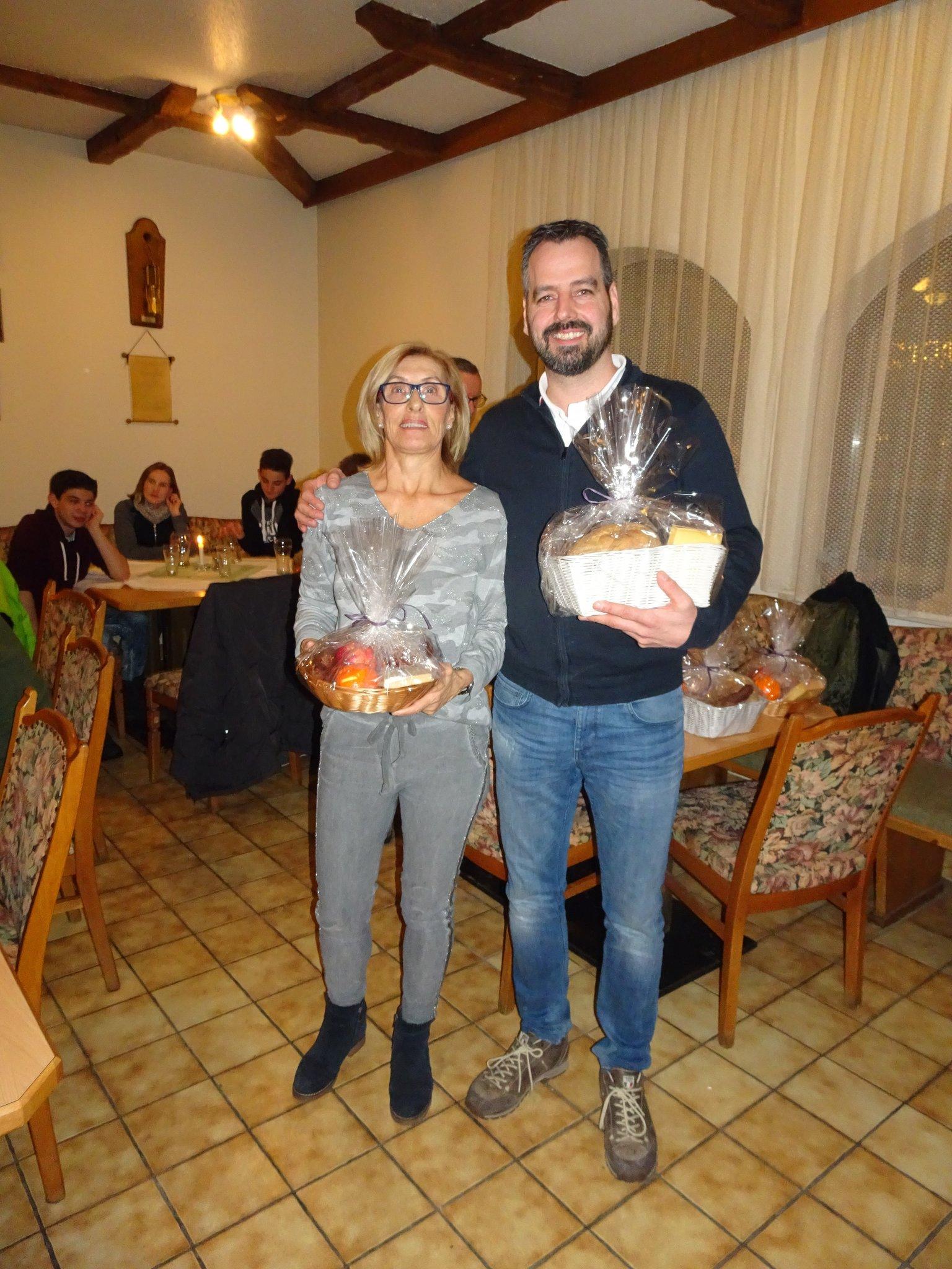 Die Sieger Barbara und Jo