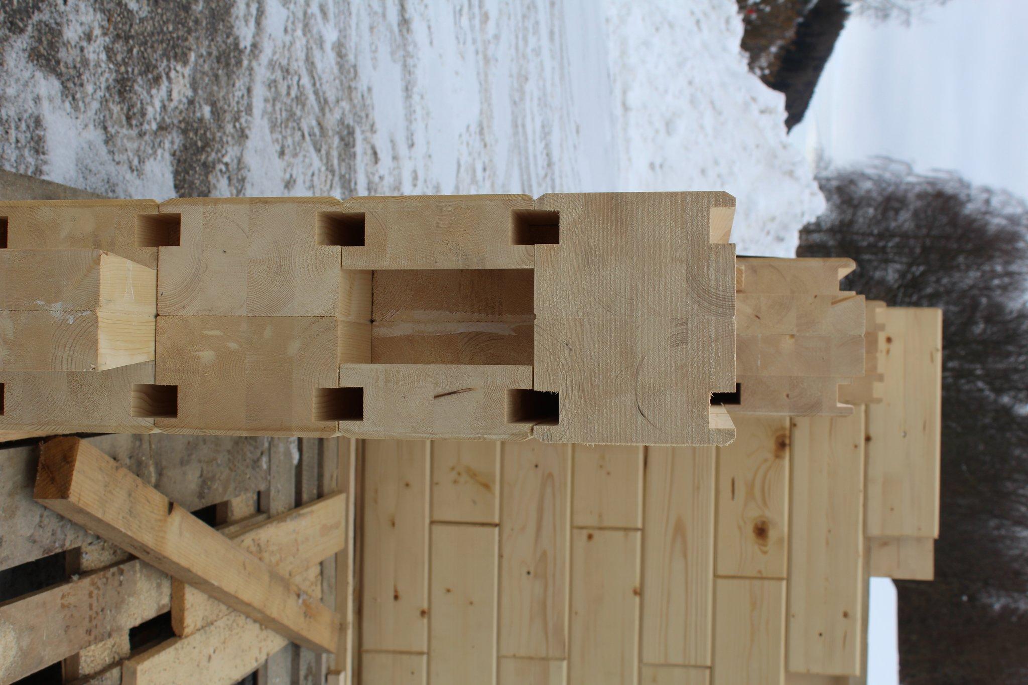 Lolling Innovativer Holz Ziegel Soll Hausbau Verandern St
