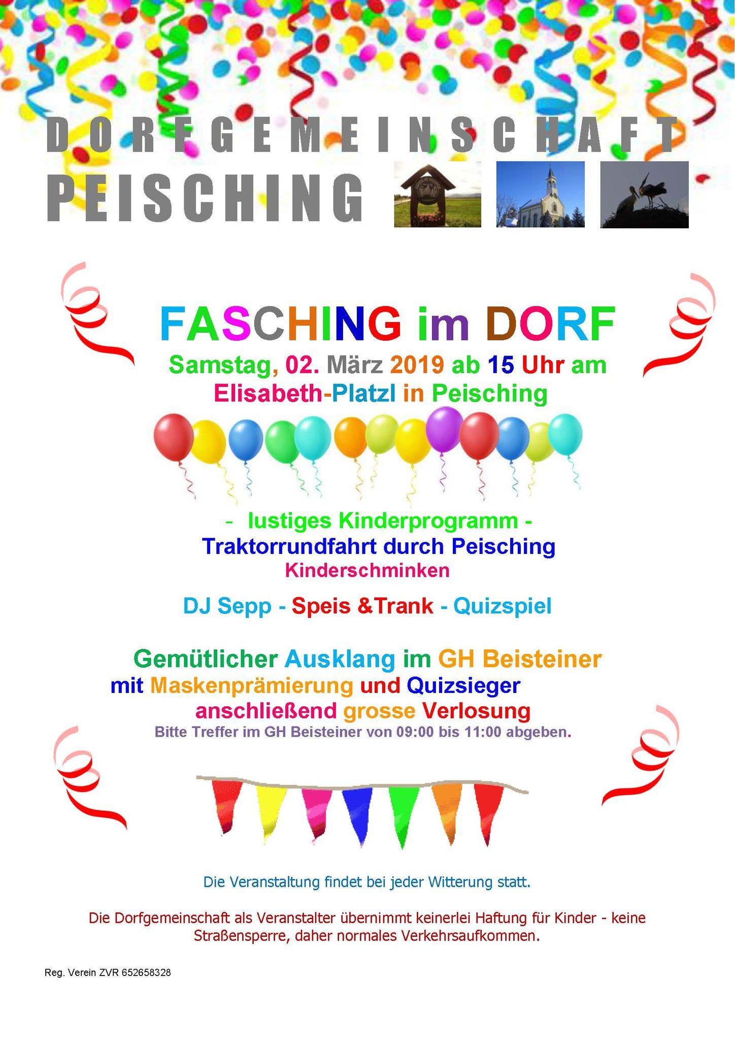 Fasching Im Dorf Einladung Zum Fasching Im Dorf Neunkirchen