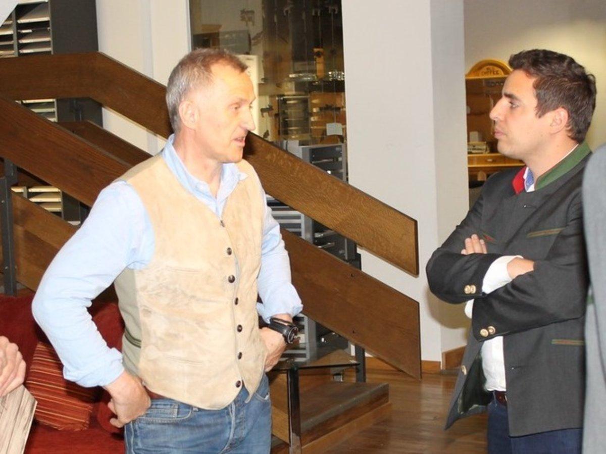 Pinzgauer Wirtschaft Silk Road Biz Award Fur Kogler Mittersill
