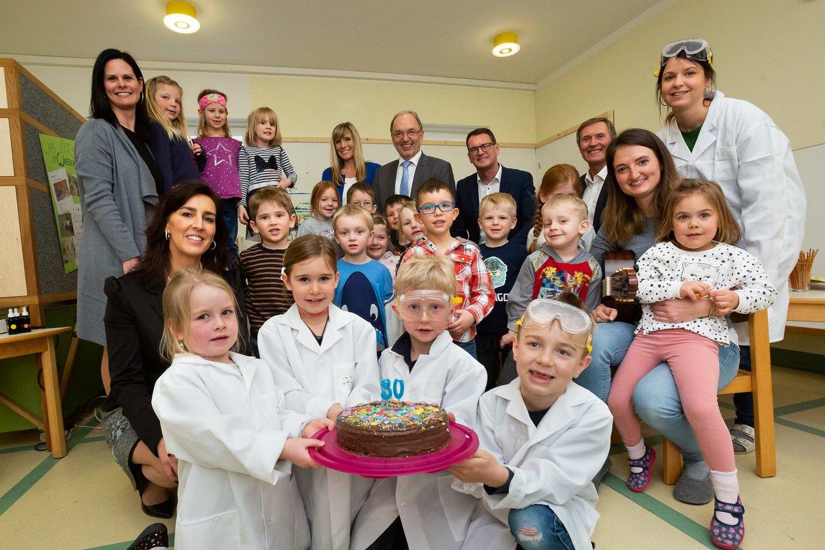 Eroffnung 30 Spurnasenecke Im Kindergarten Schleedorf Flachgau