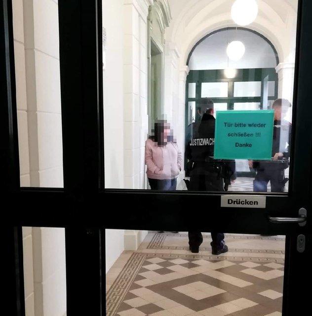 Gerichtsverhandlung in Niederösterreich Thema auf