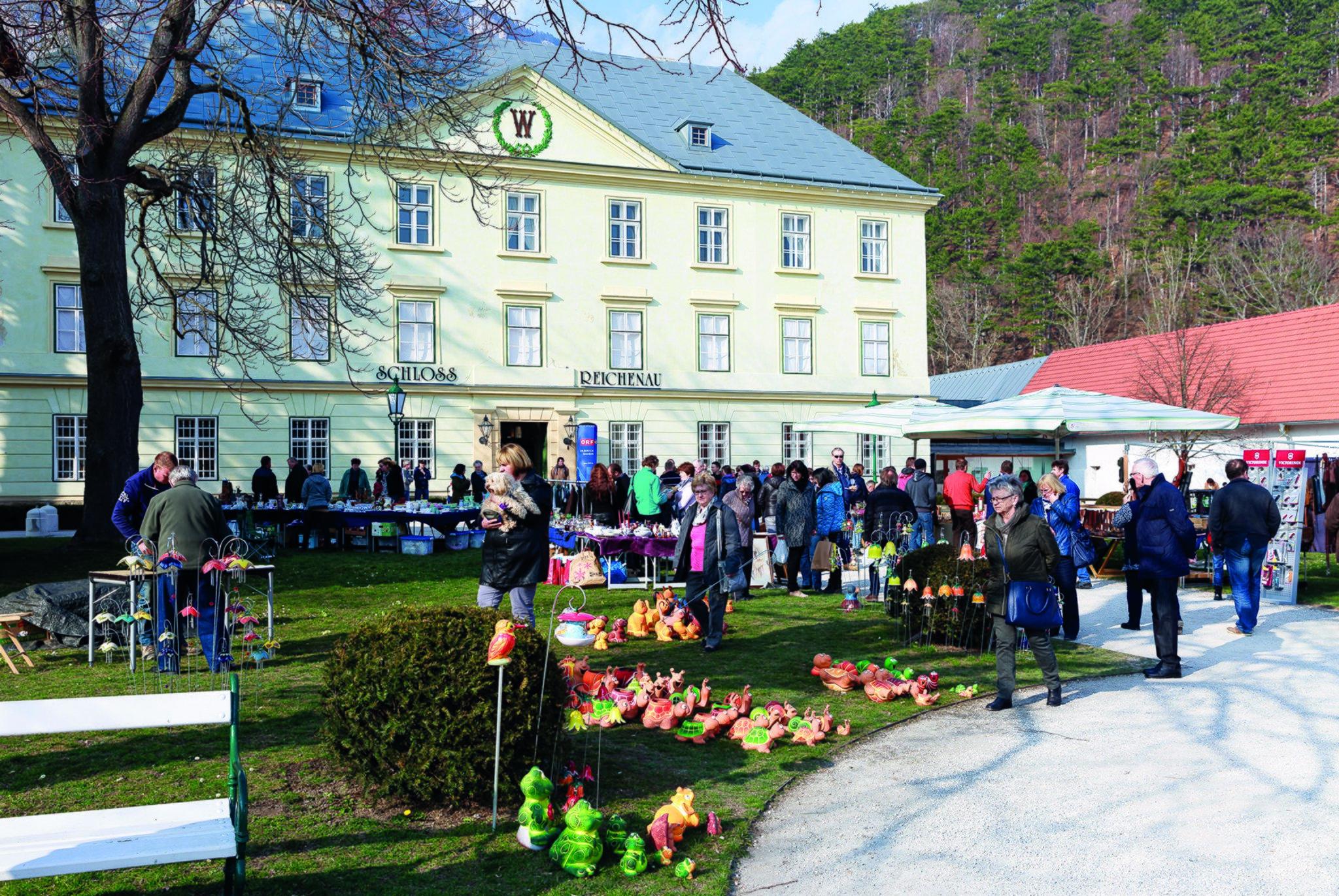 Schloss Gereuth Flohmarkt