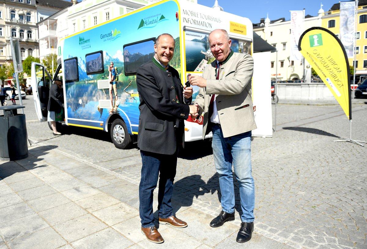 335e49b019 Ferienregion Traunsee-Almtal präsentiert mobile Tourismusinfo ...