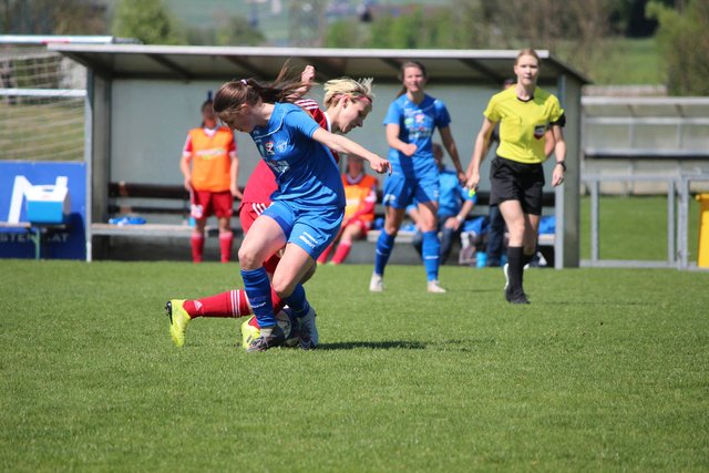 FC Bergheim LETS GO. Frauenfussball. - FFC Vorderland