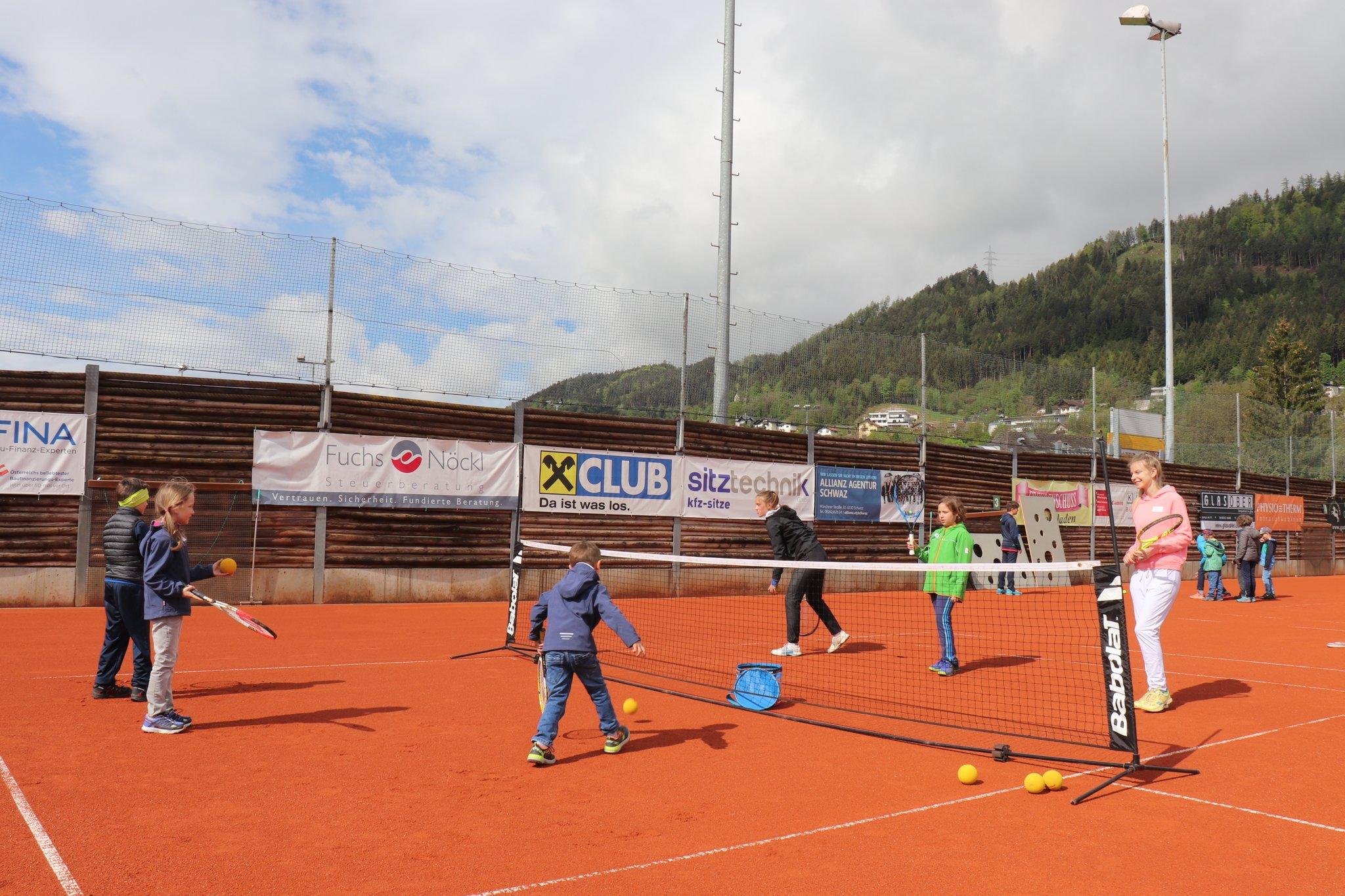 """Aktionstag Des ÖTV """"Ganz Österreich Spielt Tennis"""" (GÖST"""