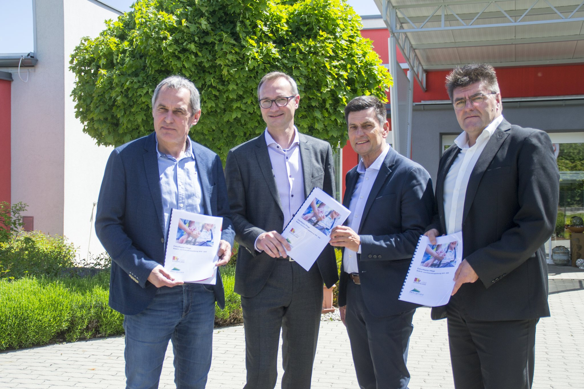 """Pflege-Pilotprojekt im Bezirk Mattersburg: """"Wir rollen einen dichten Pflegeteppich aus"""""""