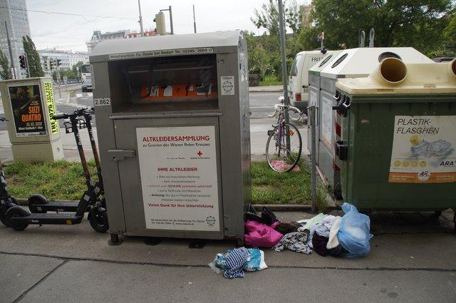 Altkleidersammlung Thema Auf Meinbezirkat