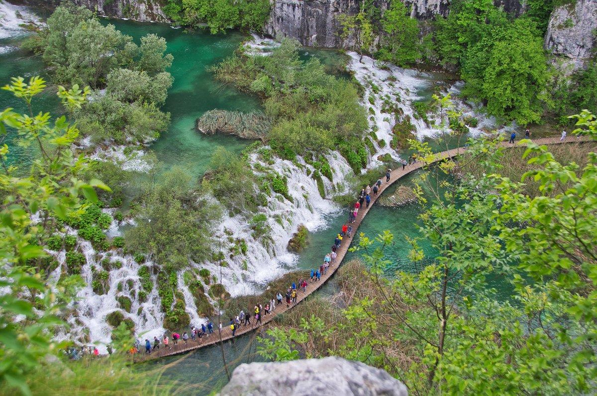 Nationalpark Plitvicer Seen Karte.Plitvicer Seen Ein Uberaus Beeindruckender Wasserreicher