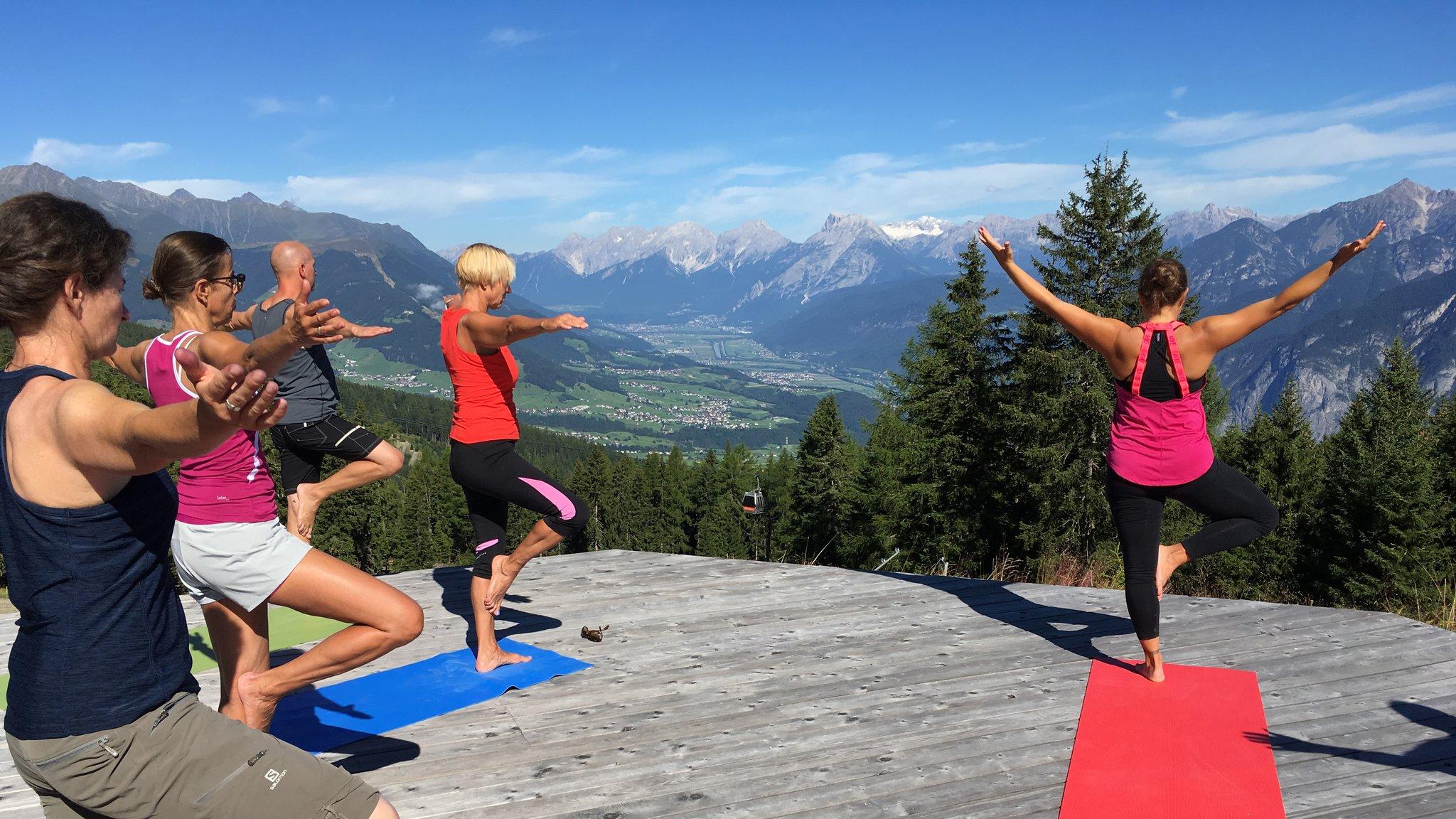 Wandern und Yoga auf dem Vormarsch - Innsbruck