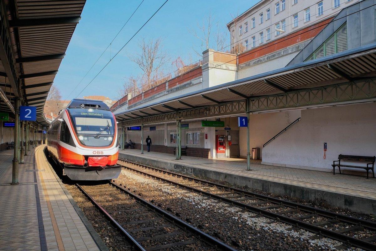 Wiener Vororte Linie S45 Wird Saniert Streckensperre