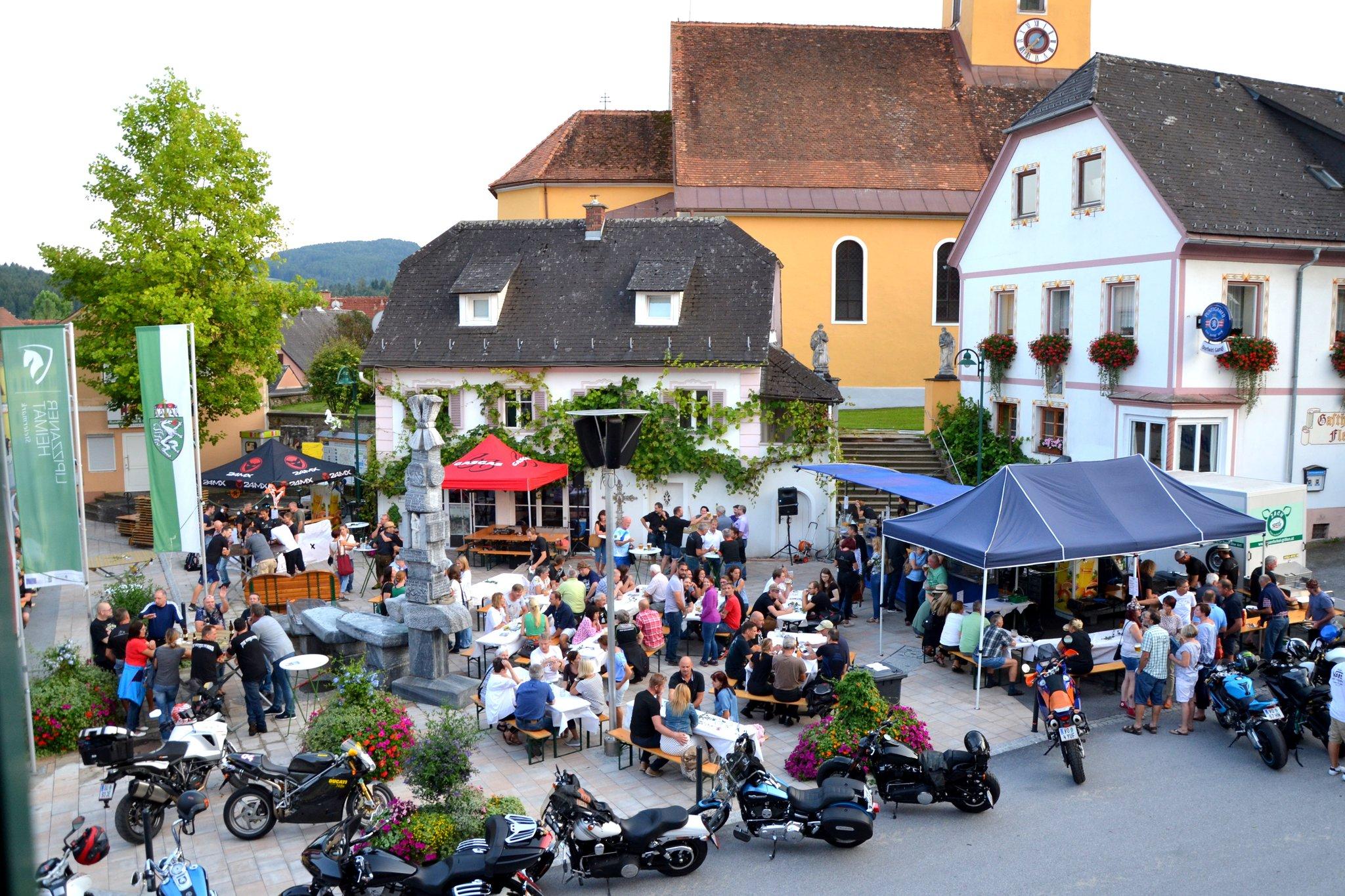 Ligister Gmiatlichkeit: Vereine beleben Marktplatz - Voitsberg