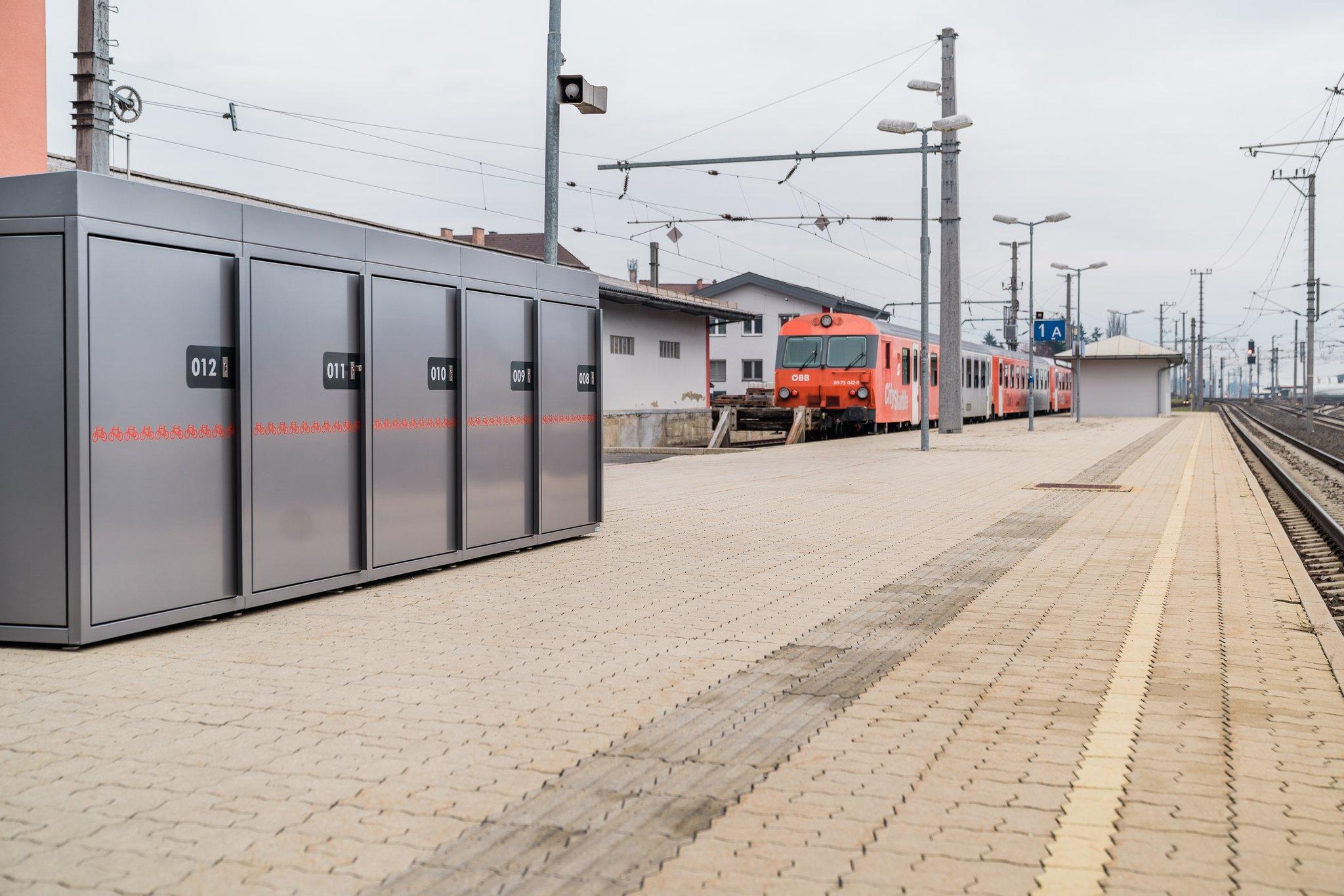 Mobilität Kärnten: G'riss um die Fahrradboxen: Klagenfurt