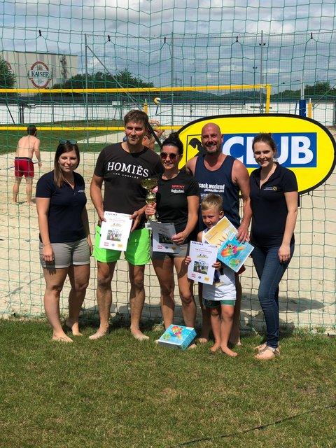 Beachvolleyball: Im Sommer (An)baggern - Scheibbs