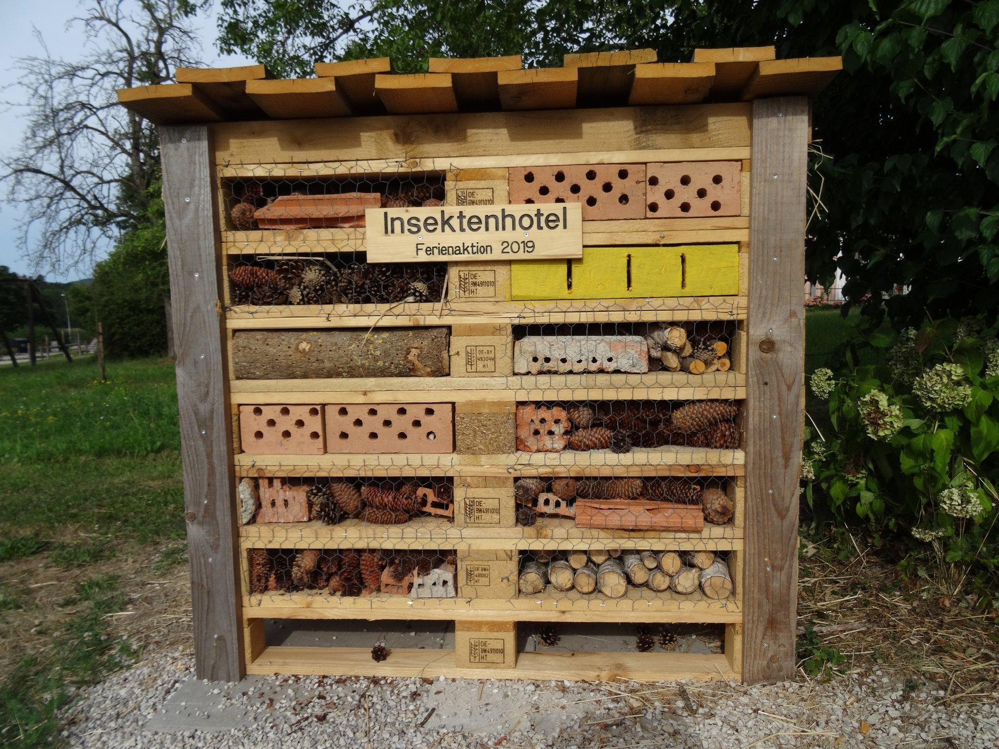 Insektenhotel Aus Paletten