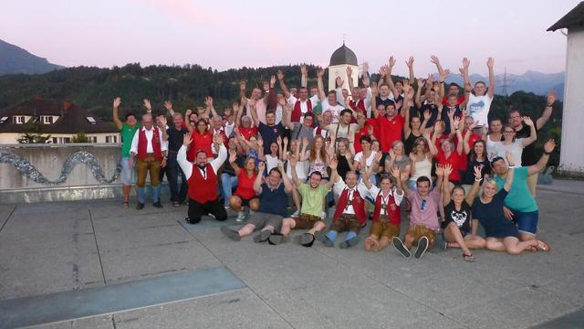 Lustiges Waldfest in Gfis - rockmartonline.com