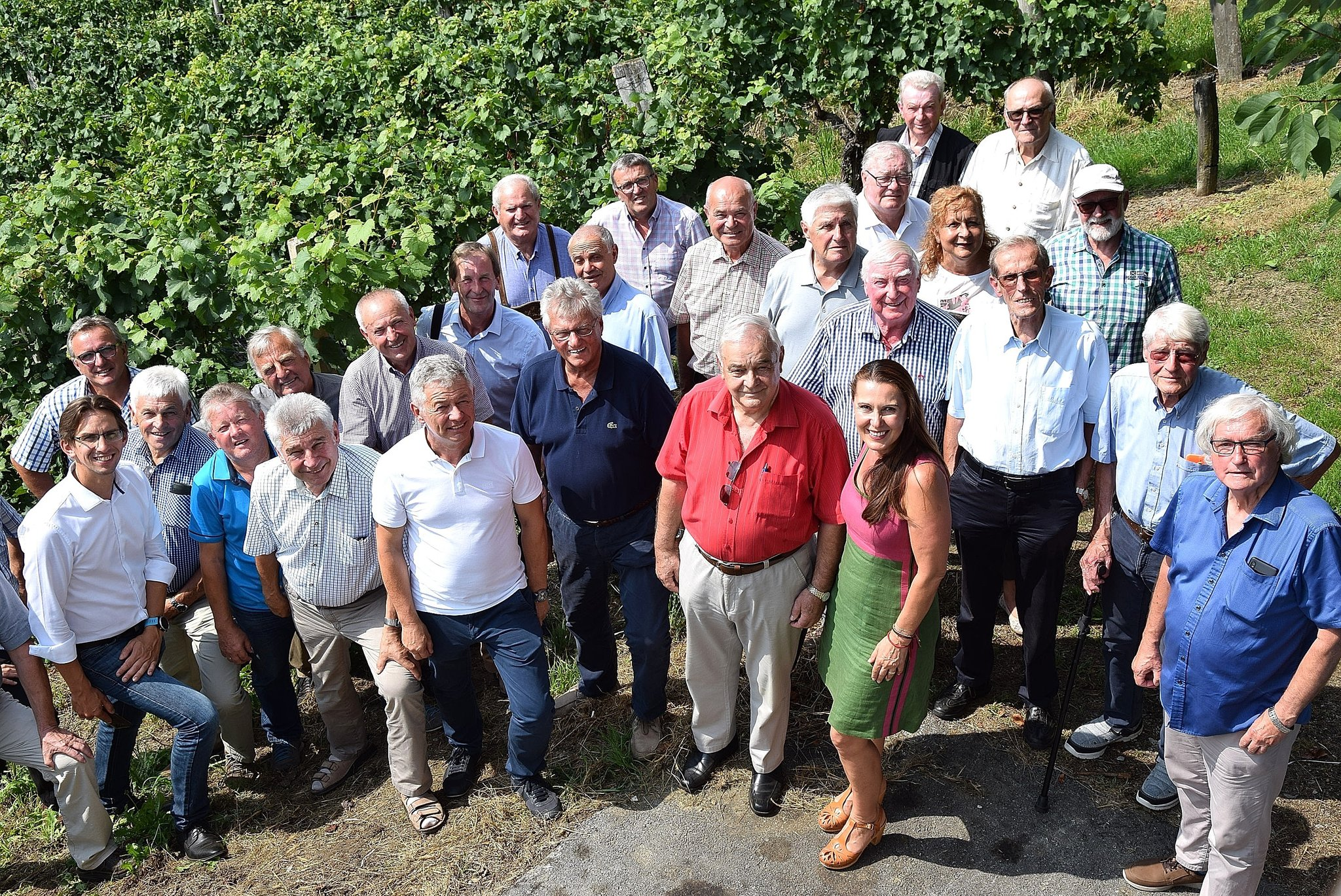 Wiedersehen macht Freude beim Philips-Treffen - Leibnitz