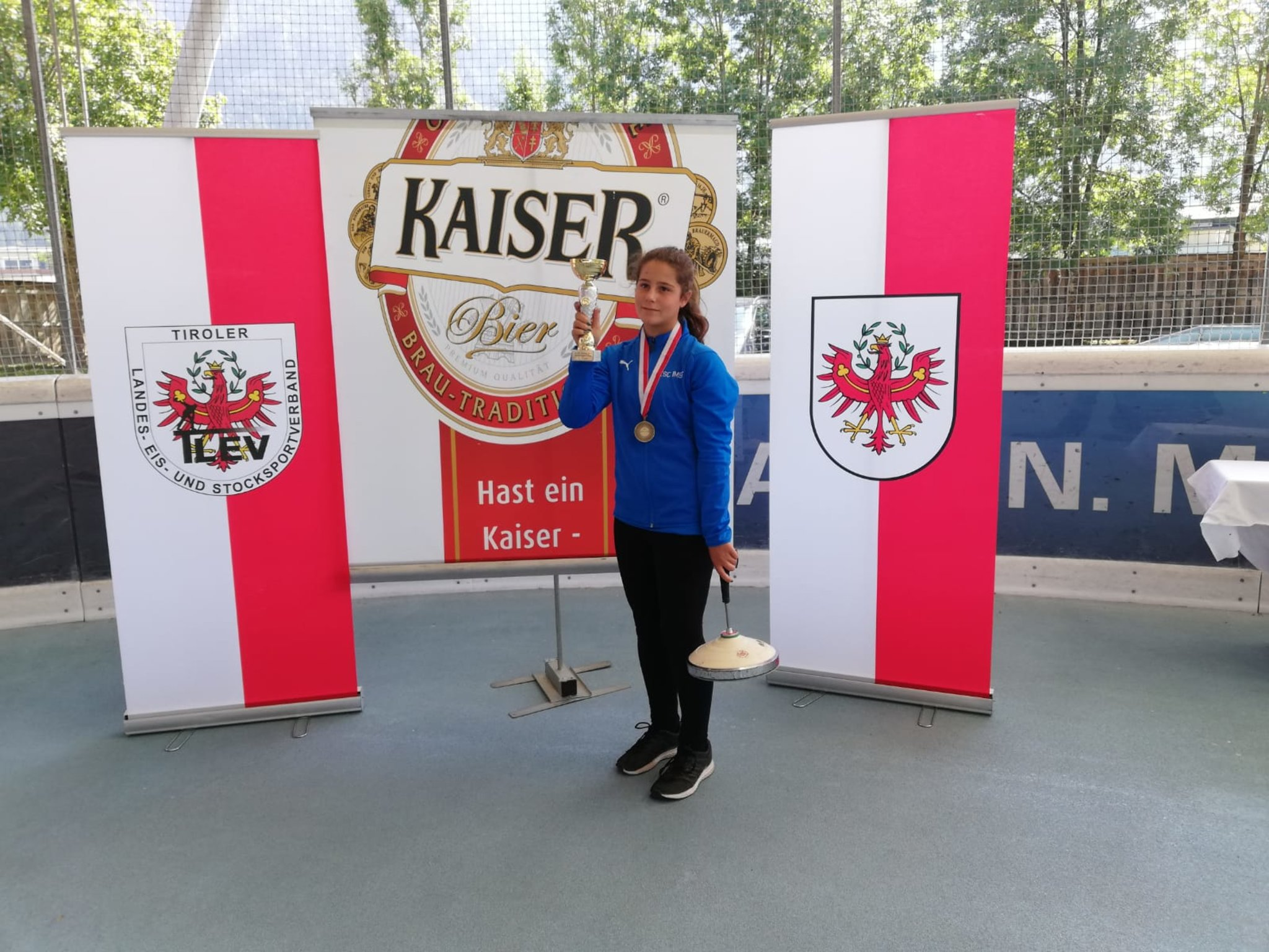 Tiroler Stocksport-Jugend: 3. Platz Für Den ESC Imst