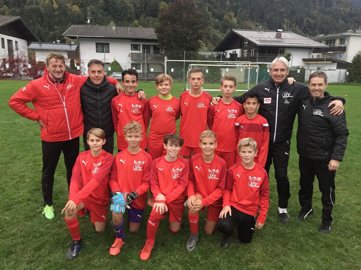 Fussball Im Pinzgau Ofb Nachwuchs Nationaltrainer Stadler