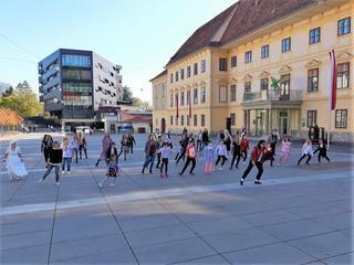 Flashmob Michael Jackson Thriller