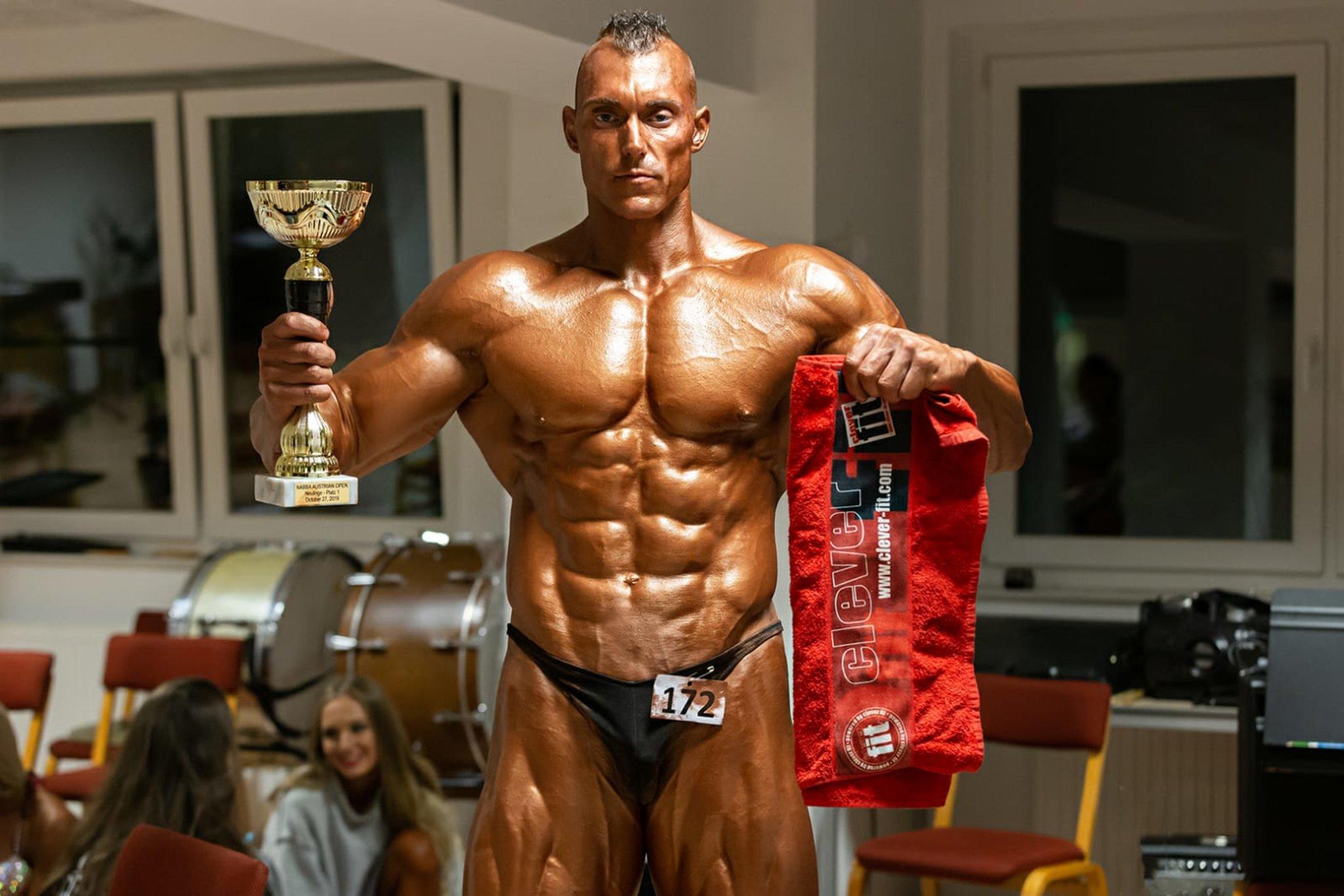 Bodybuilding: Hickl räumt Vize-Staatsmeistertitel ab - Tulln - meinbezirk.at
