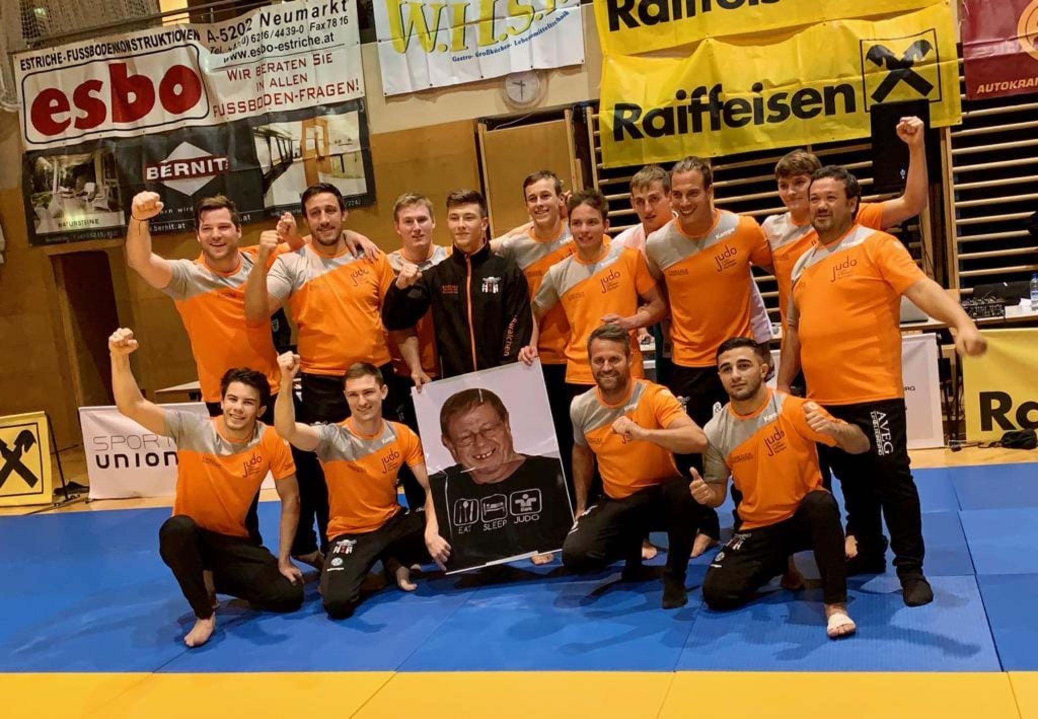 Judo Union Raiffeisen: Flachgau im Kampf um den Bundesliga-Meistertitel - Flachgau - meinbezirk.at