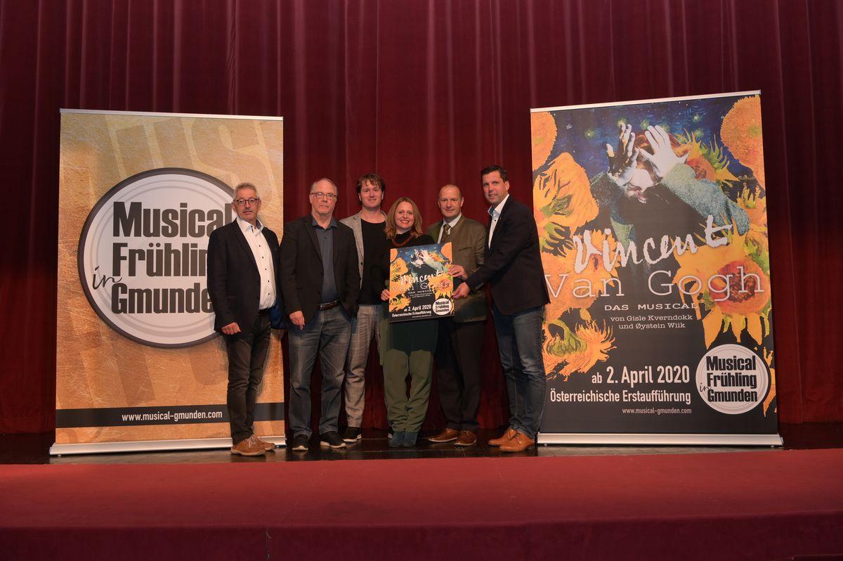 Manfred Andessner, Caspar Richter, Markus Olzinger, Elisabeth Sikora, Andreas Murray und Stefan Krapf.