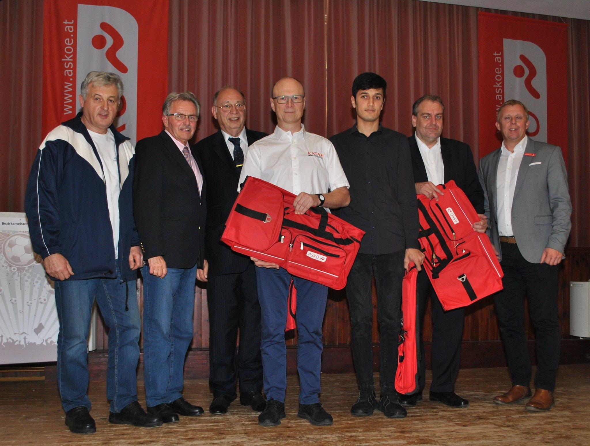 Judo: Franz Winter und Hassan Mosavi bei der ASKÖ Sportlerehrung 2019 in Trumau! - meinbezirk.at