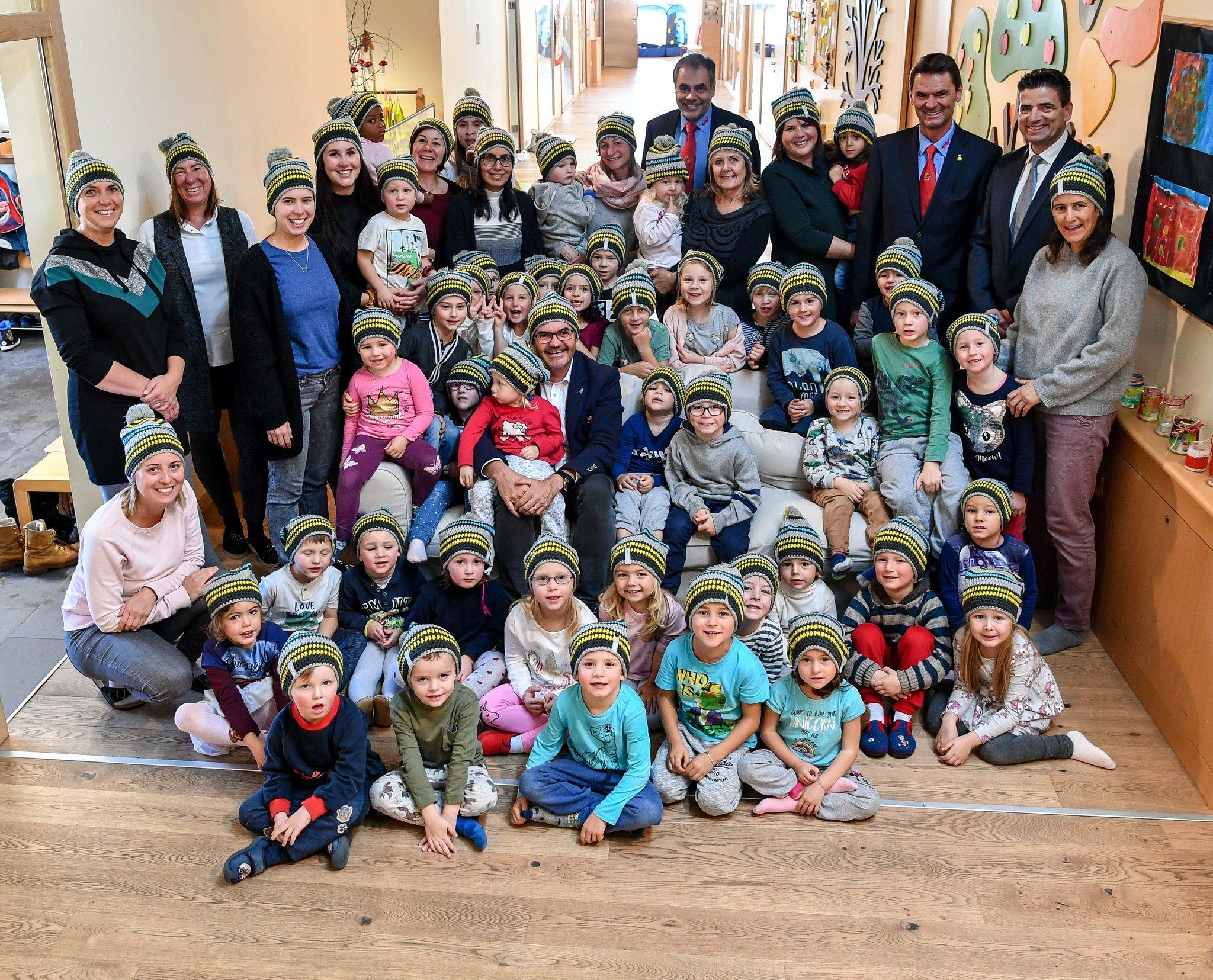 Sicherheitsaktion im Kindergarten Seefeld: Eure Sicherheit liegt uns am Herzen - meinbezirk.at