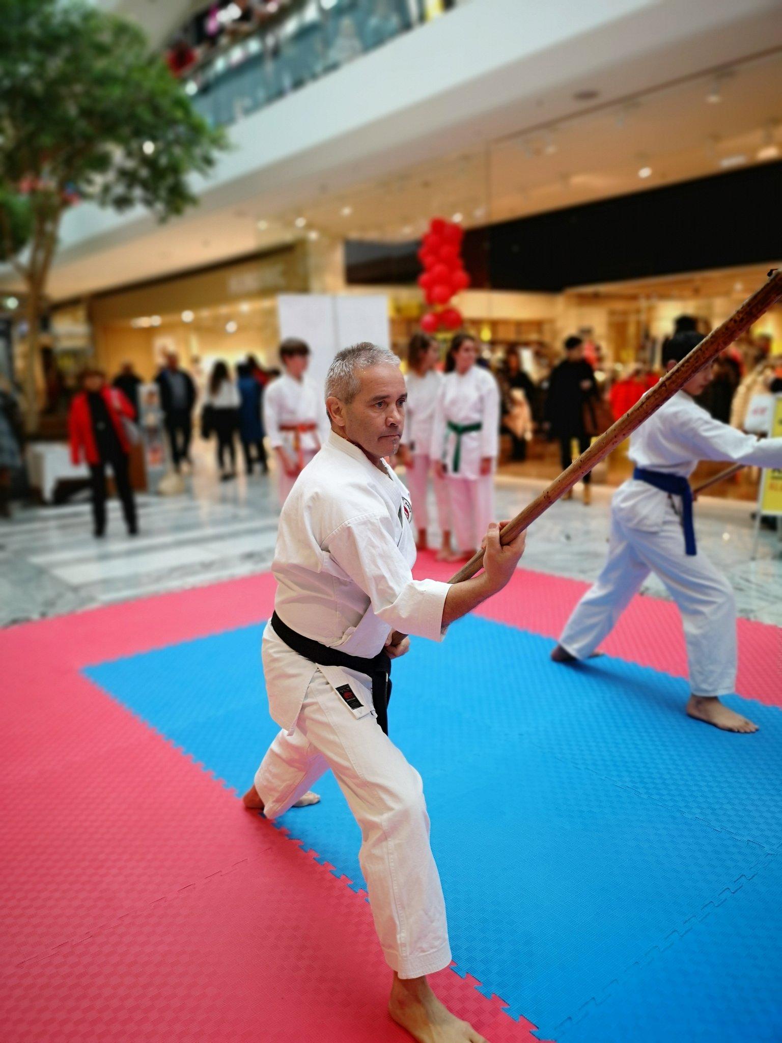 Fünf Karate-Kids kämpften sich durch den Traisenpark - meinbezirk.at