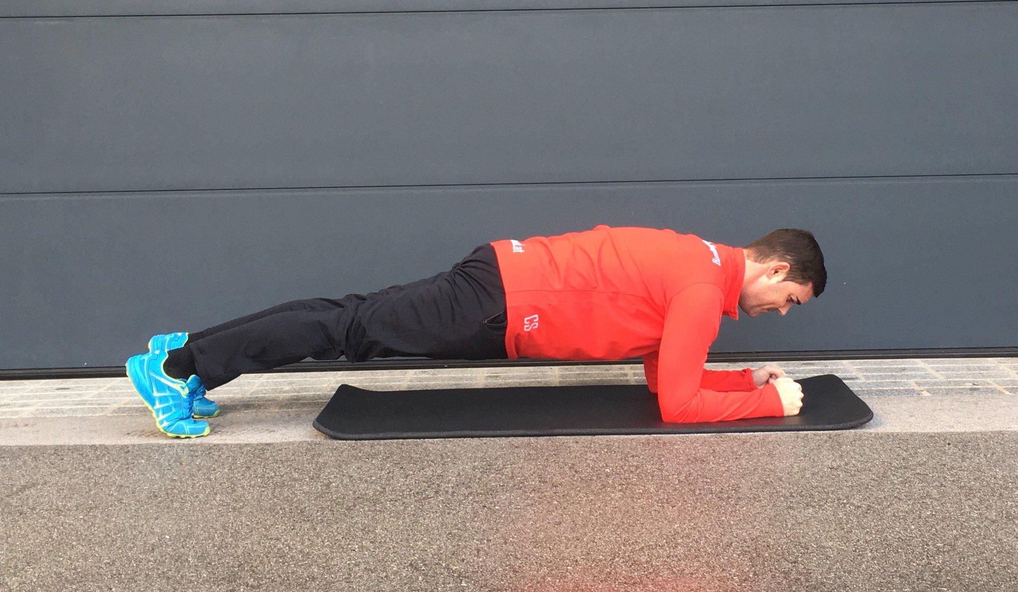 planking wie viele wiederholungen
