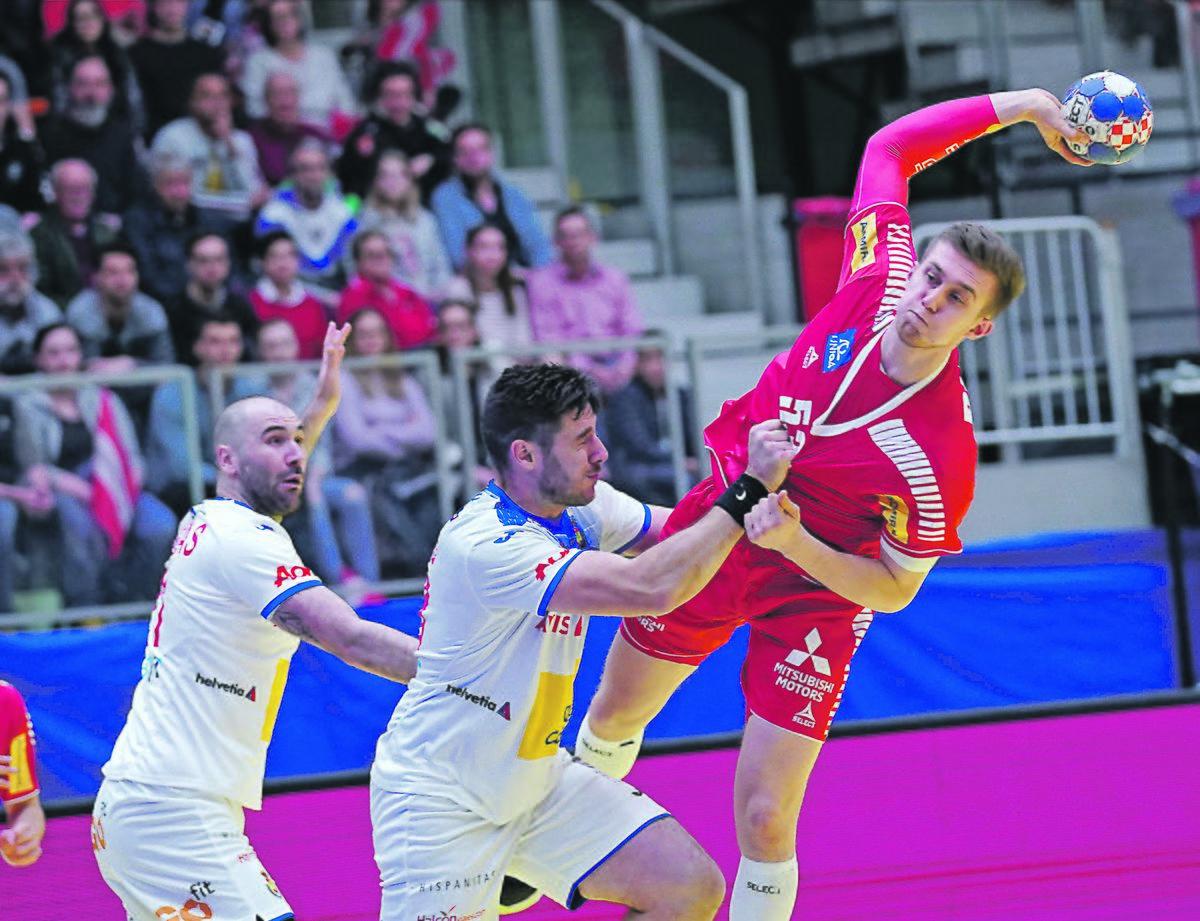Handball Em In Wien Osterreich Ballert Nordmazedonien Vom